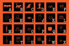 Spooky Squad - A Halloween Dingbat Font Product Image 6