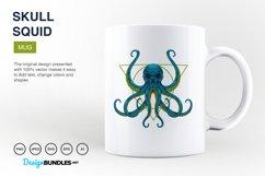 Squid Skull Illustrations Product Image 5