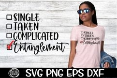 Entanglement - Single - Taken - Complicated- SVG PNG EPS DXF Product Image 1