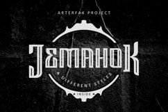 Jemahok Typeface Product Image 1