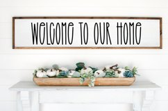 Beauty In Bloom - A Tall Handlettered Font Product Image 3