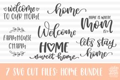 Home SVG Bundle, Welcome to Our Home Bundle Product Image 5