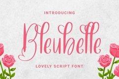 Web Font Bleubelle Font Product Image 1