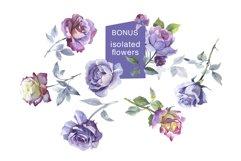 Rose Garden JPG watercolor set Product Image 6