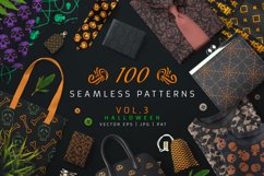 100 Seamless Patterns Vol.3 Halloween Product Image 1