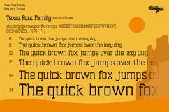 Texaz Font Family - Slab Serif Vintage Font Style Product Image 2
