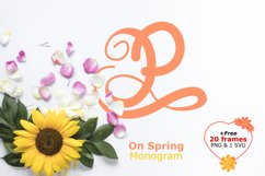 Monogram on spring Product Image 1