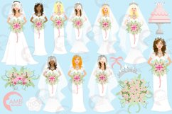Wedding Bride cliparts AMB-937 Product Image 4