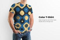 3 Men's T-Shirt Mockup Product Image 4