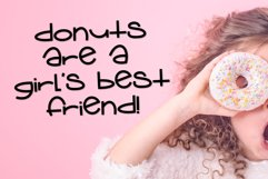 Donut Grow Up a Fun Font with extra Doodles Product Image 6