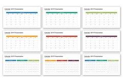 Calendar 2019 Presentation - Infographic Template Product Image 2