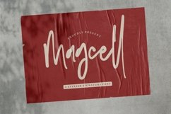 Web Font Magcell - A Stylish Signature Font Product Image 1