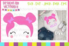 Doll, Dolly Head, SVG, DXF, PNG Product Image 1