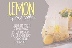 Lemon Lime - A Print/Script Handwritten Font Duo Product Image 4