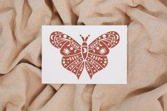Mystical butterfly svg, Boho butterfly, Boho moth svg, Luna Product Image 3