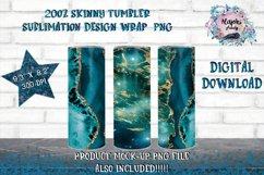 20oz & 12oz  Sublimation Tumbler Wrap   Design Bundle Product Image 4