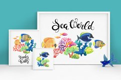 Sea World watercolor collection Product Image 2