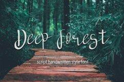 deep forest script handwritten font Product Image 1