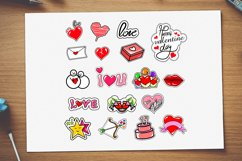 bundles set valentines Day stickers Product Image 3