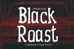 Black Roast - child teen handwritten font Product Image 1