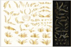 Golden plants and twigs Product Image 2