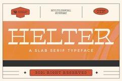 Helter Slab-Serif Typeface Product Image 1