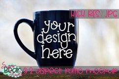 Left Handed Mug Mockup Product Image 1