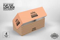 Flip Top Loaf Box Packaging Mockup Product Image 5
