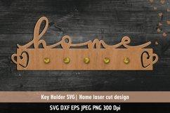Home SVG| Key Holder SVG| Laser cutting files Product Image 1