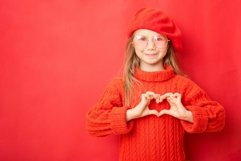 Love, heart shape, peace. Sign, gesture or symbols Product Image 1