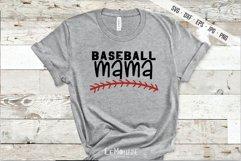 Baseball Mama SVG, Baseball Mom Cutting File, SVG, DXF Product Image 1