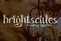 Brightscales Typeface Product Image 1