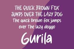 Web Font Gurila - Handrawn Sans Font Product Image 2
