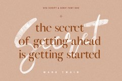 January Love Font Duo With 10 Logos & More Extras Product Image 5