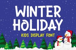 Winter Holiday Product Image 1