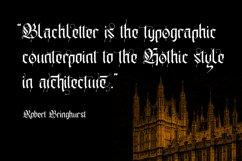 Gold Empire - Blackletter Font Product Image 3