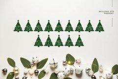 Christmas tree monogram split letter Product Image 2