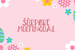 Bunny Kids - Cute Display Font Product Image 3