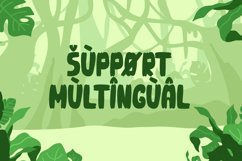 Groots - Quirky Display Font Product Image 2