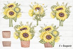 """Frames and Bouquets """"Sunflowers"""" Product Image 3"""