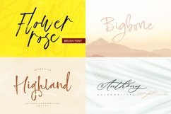 HANDWRITTEN FONTS COLLECTION Product Image 6