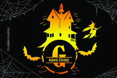 House Halloween Monogram Product Image 4