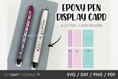 Epoxy Pen BUNDLE svg, Pen Wrap Svg, Pen Box svg, Pen card Product Image 5