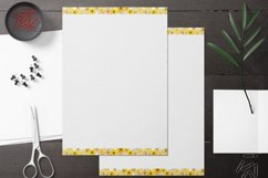Yellow Lined and Unlined Journaling Papers Product Image 4