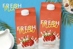 Milk Favorites Font Product Image 4