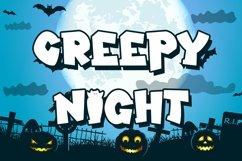 Web Font Vamps Night - Halloween Display Font Product Image 3
