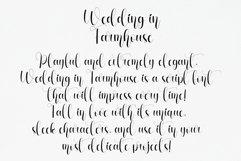 Wedding In Farmhouse   handwritten font Product Image 2