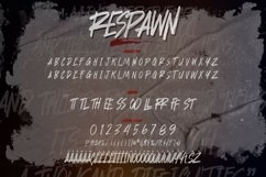 Respawn - Handwritten Brush font Product Image 2
