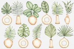 "Watercolor ClipArt ""Tropics Indoor Product Image 3"