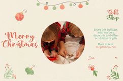 Pretty Christmas - Cute Typeface Font Product Image 4